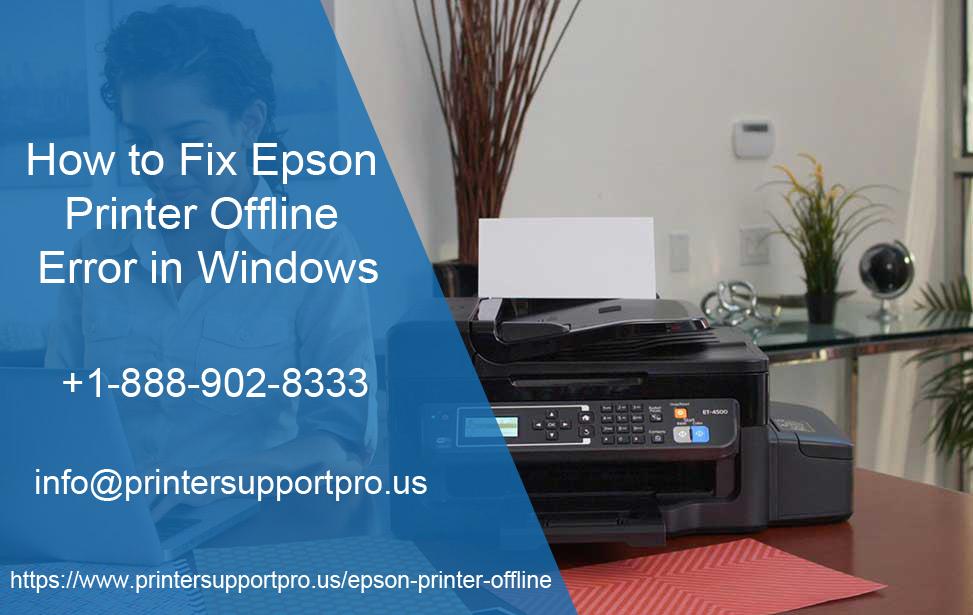 Epson Printer Offline Errors, Epson Printer Support