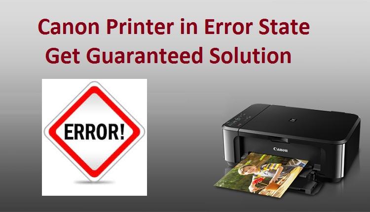 Canon Printer in Error State