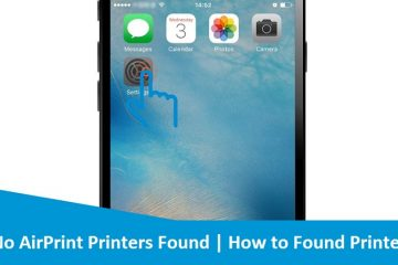 No-AirPrint-Printers-Found