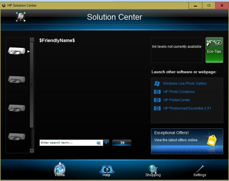 HP-Solution-Center