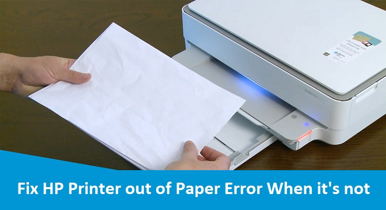 HP-Printer-out-of-Paper