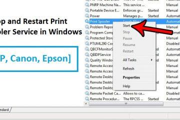 Restart-Print-Spooler-Service