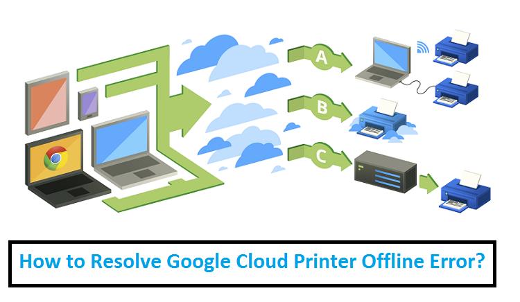 Google-Cloud-Printer-Offline