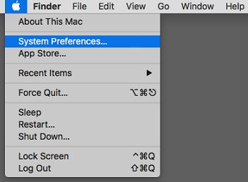 Apple-Menu-system-Preference