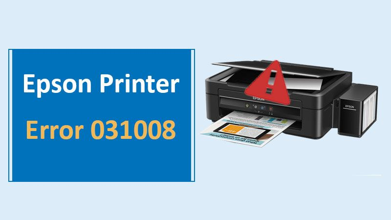 Epson Printer Error 031008