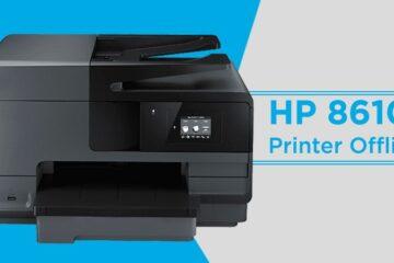 HP 8610 Printer Offline