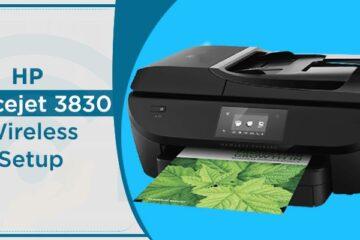 HP Officejet 3830 wireless setup