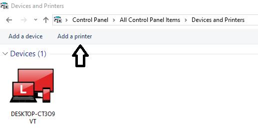 Add-printer-setting