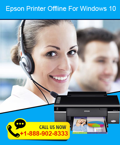 Epson printer offline +1-888-902-8333 Epson printer says offline